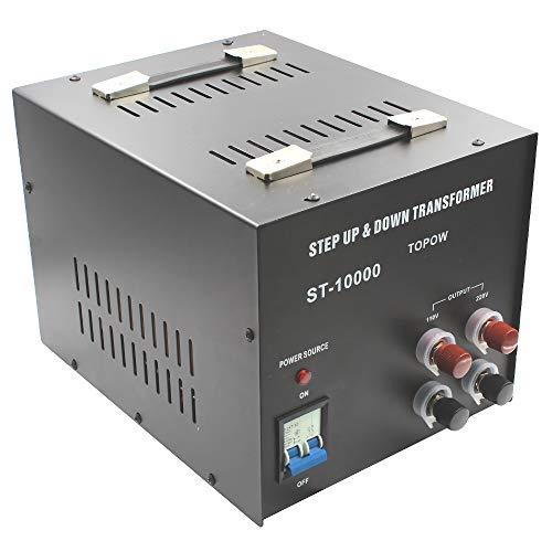 Topow 10000 Watt Voltage Transformer 10000 Watt Step Up and Down Converter