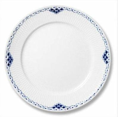 (PRINCESS BLUE BUFFET DINNER PLATE PS by Royal Copenhagen)