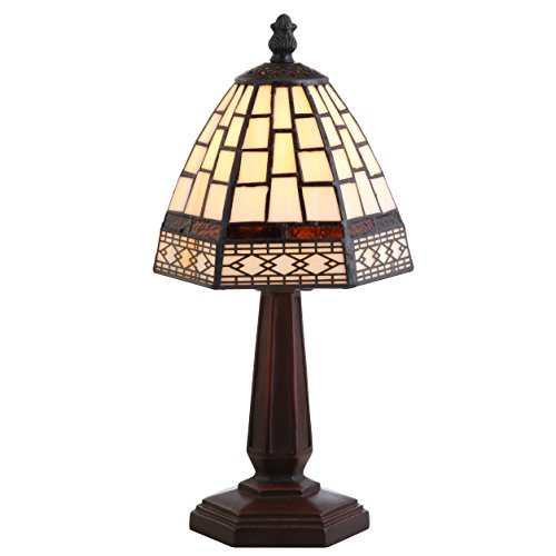 JONATHAN Y JYL8016A Carter Tiffany-Style 12'' Table Lamp, Bronze by JONATHAN Y