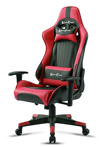 Directional Pc (KingCore Multi-directional Ergonomic PC Gaming Chair Racing Style High-back Office Chair With 180°Tiltable Seat)
