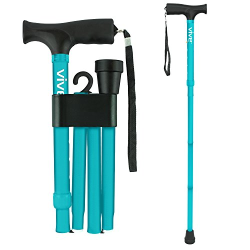 Folding Cane by Vive - Walking Cane for Men
