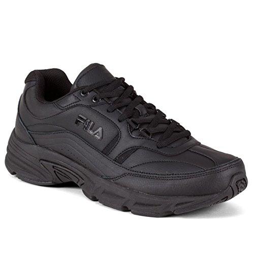 Fila Women's Memory Workshift Cross-Training Shoe,5.5 B(M) US,Black/Black/Black