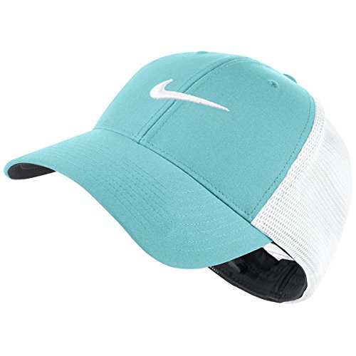 NIKE Legacy 91 Tour Mesh Fitted Hat 727031 Copa (S-M)