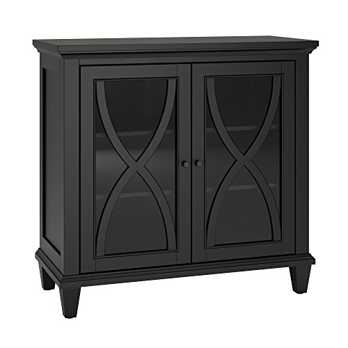 glass accent cabinet - 9