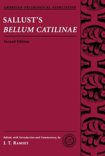 Sallust's Bellum Catilinae (Society for Classical Studies...