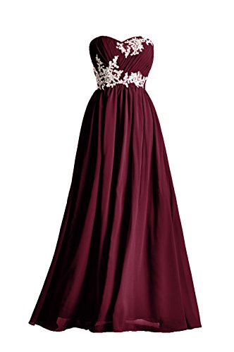 2 color bridesmaid dresses - 1