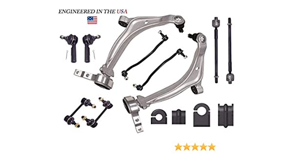 14PC Suspension Kit with Made In USA Bushings FOR 2002-2006 Altima 3.5L