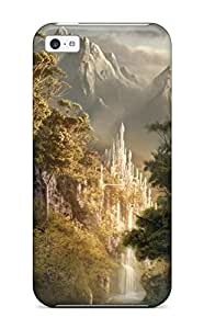 2015 High Impact Dirt/shock Proof Case Cover For Iphone 5c (landscape Fantasy Abstract Fantasy) 6916349K89387342