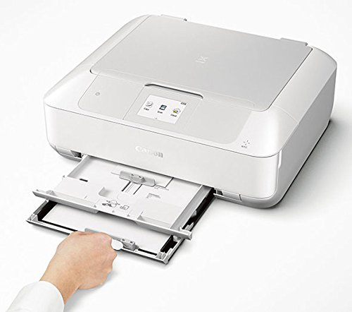 Canon MG7720 Wireless All-In-One Printer with Scanner and Copier: Mobile and Tablet Printing, with Airprint  and Google Cloud Print compatible, White by Canon (Image #4)