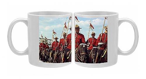 [Photo Mug of Mounties, Canada, North America] (Mountie Uniform)