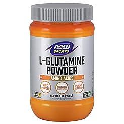 NOW  Sports L-Glutamine Powder, 1 lb.
