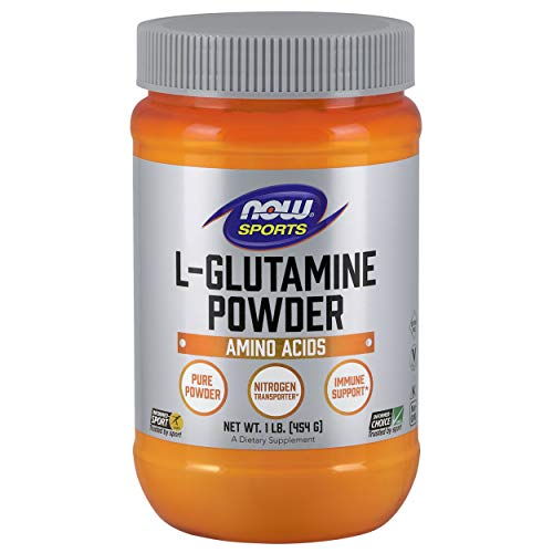 NOW® Sports L-Glutamine Powder, 1 lb.