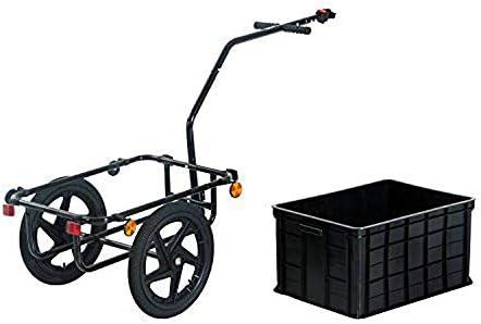 QWERTOUY Remolque de Bicicleta con Ruedas de Aire de 16 Pulgadas ...
