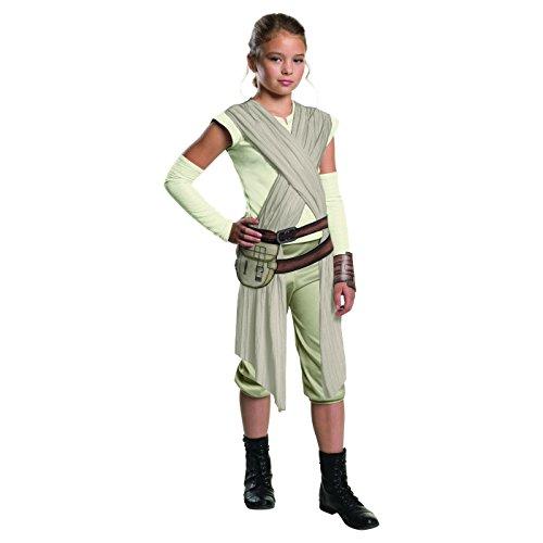 Onceuponasale Small 4-6 Rey Star Wars Episode VII Girls' Deluxe Child Halloween Costume