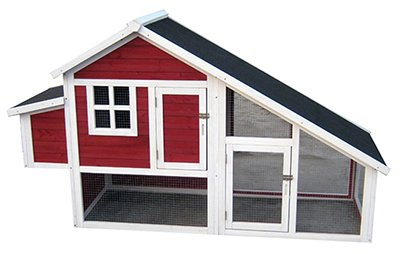 Merry Pet Ph0030010402 Habitat Coop for Chickens, Red Stain