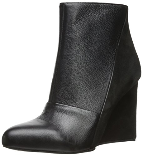 See By Chloe Women's Suede Leather Ankle Bootie,Black,38.5 EU/8.5 M US