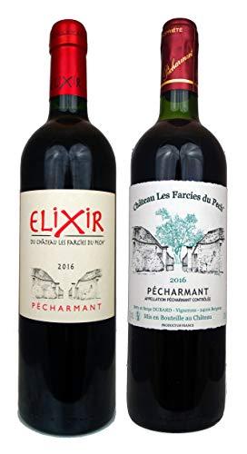 Geschenkset Pécharmant Rotweine 'Stars des Bergerac' 2017 Wein Geschenk (2 x 0.75l)