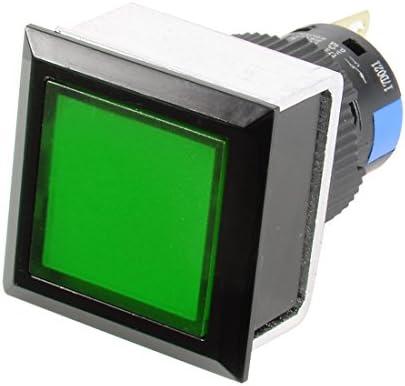 uxcell 押しボタンスイッチ プッシュボタンスイッチ AC 250V 0.5A SPDT 1NO +1NC ラッチング 3ターミナル