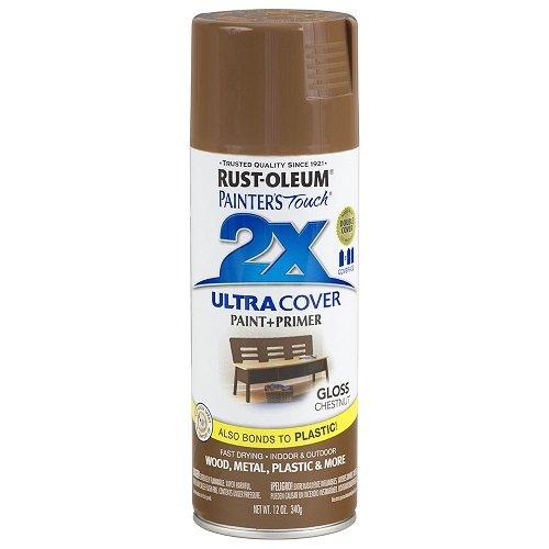 Rust-Oleum 249847 Painter's Touch Multi Purpose Spray Paint, 12-Ounce, Chestnut