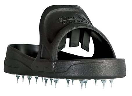 Midwest Rake Sharp Spiked Style Shoes for Resinous Coatings, with Replacement Spikes Large (Various Sizes: M -XL) by Seymour (Image #1)