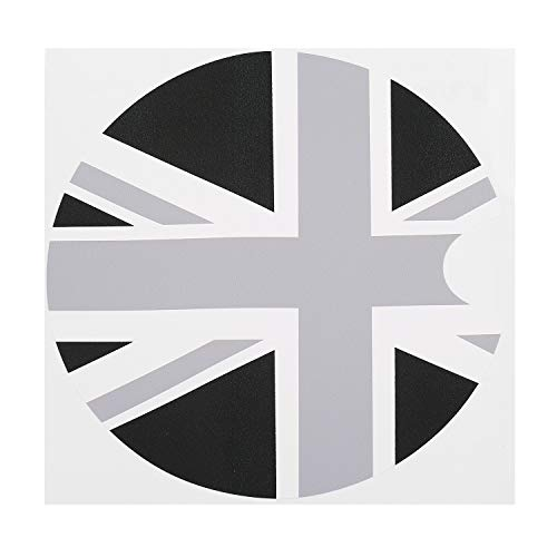 New 1pc 180180mm PVC Mini Cooper F55 F56 Car Petrol Diesel Fuel Tank Cap Gas Cover Vinyl Sticker Decal British UK Flag