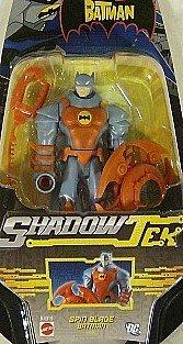 (Shadow Tek Spin Blade Batman Dc Comics Action Figure)