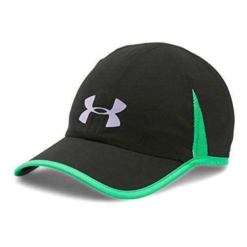 (Under Armour Men's Shadow 4.0 Run Cap, Artillery Green (357)/Reflective, One Size)
