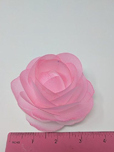 Amazon 3d edible rice paper rose flower for cake decoration 3d 3d edible rice paper rose flower for cake decoration 3d cake toppers pink mightylinksfo