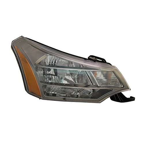 2009 Ford Focus Replacement - TYC 20-6917-90-1 Ford Focus Right Replacement Head Lamp