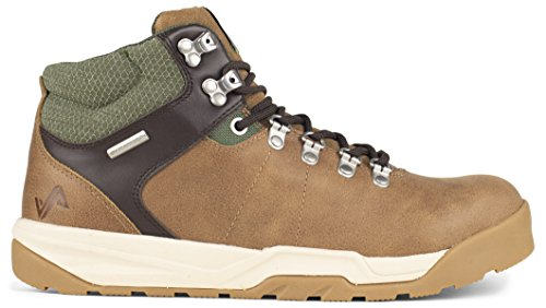 Forsake Trail - Men's Waterproof Premium Leather Hiking Boot (12, Tan/Cypress)
