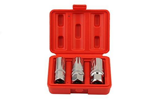 Cleanout Plug 0.5 (Shankly Spark Plug Socket Set (Magnetic and 1/2
