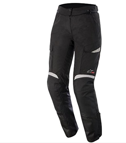 Alpinestars Stella Bogota Drystar Womens Pants, Gender: Mens/Unisex, Primary Color: Black, Size: Lg, Distinct Name: Black/Gray 3237015-102-L
