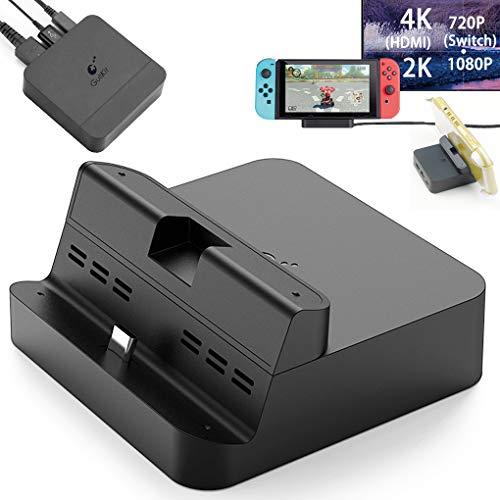 GuliKit Pocket TV Dock for Nintendo Switch, PD Protocol Avoids Brick, Hyper Trans for 1080P/2K/4K Projection, Magnet…