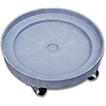 i-Lift Equipment SD3-5 Plastic Drum Dolly for 30 gal and 55 gal Drums, 900 lb. Capacity