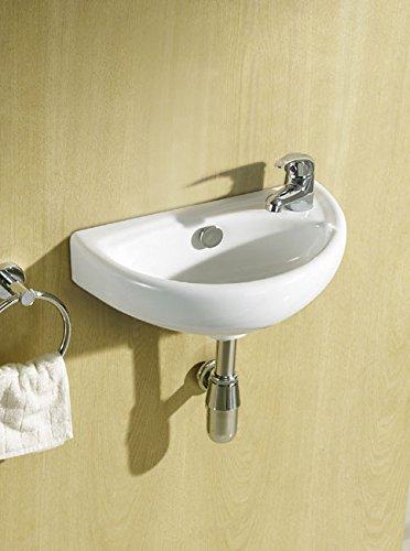 Hansvit Joshr V05 Josh Right Hand Basin With Tap And Waste