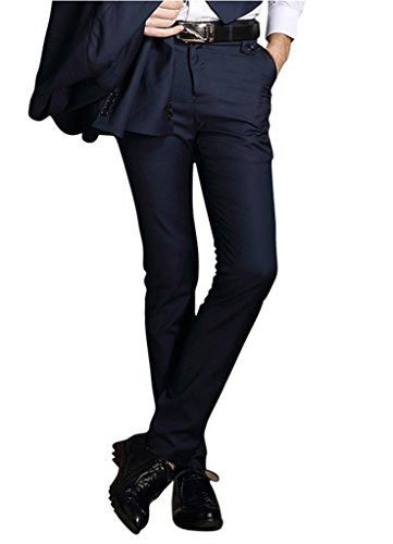navy blue dress pants - 9