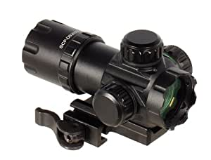 "UTG 3.9"" ITA Red/Green CQB Dot Sight with Integral QD Mount"