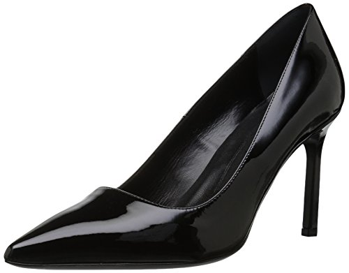 Via Spiga Women's Nikole Pump, Black Patent, 8 M -