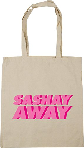 Bag Gym Natural 42cm away 10 Sashay x38cm Shopping HippoWarehouse Tote Beach litres IHOwYnq