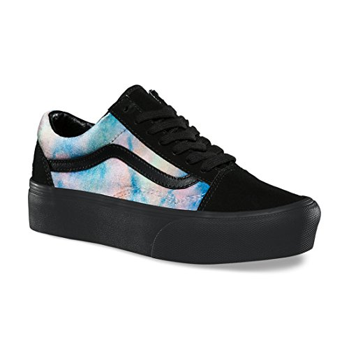 Black Platform Trainers Women��s Slip Slip on Multi On Classic Vans zUgFfZU