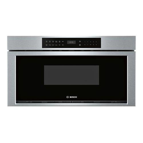 Bosch - 800 Series 1.2 Cu. Ft. Built-in Microwave - Stainles
