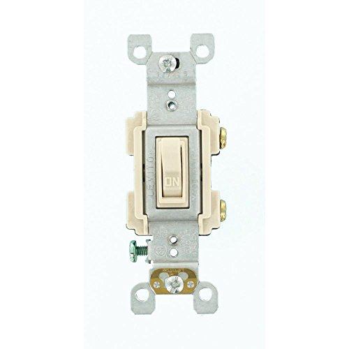 Leviton 15 Amp Preferred Switch, Light Almond from Leviton