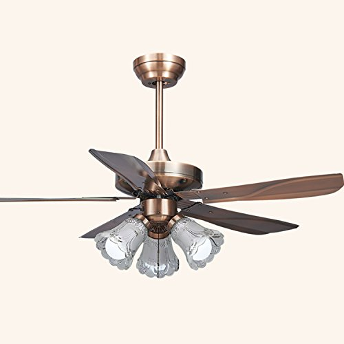 XHOPOS Home European Style Fan Lights Ceiling Fan Lights ...