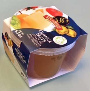 Quince Paste - San Lorenzo Quince Paste (Dulce de Membrillo, Ate de Membrillo) cup of 5.3 oz (150 g) (1 Pack)
