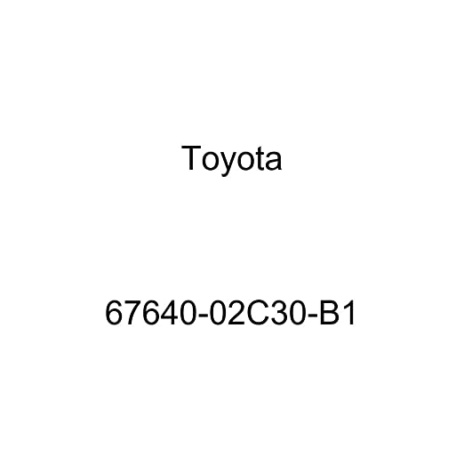 Genuine Toyota 67640-02C30-B1 Door Trim Board
