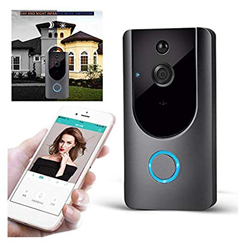 M2 Wireless Visual Smart Doorbell Alarm Wifi Mobile Phone Remote Monitoring (Best Mobile Ringtone Music)