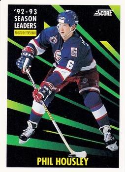 Phil Housley 1993-94 Score American NHL Hockey Card #482 Winnipeg Jets