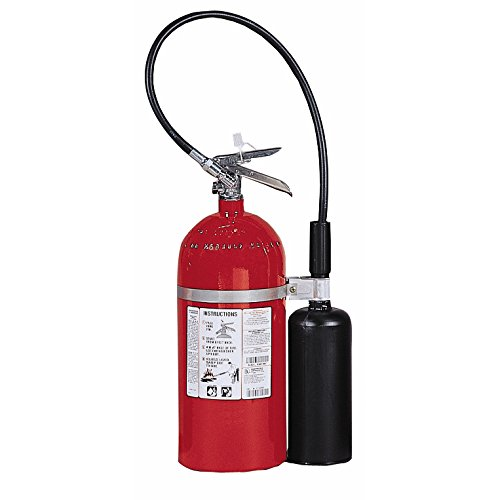 Kidde 466181 Pro 10 Carbon Dioxide Fire Extinguisher, Electronic Safe, Environmentally Safe, UL Rated 10-B:C ()