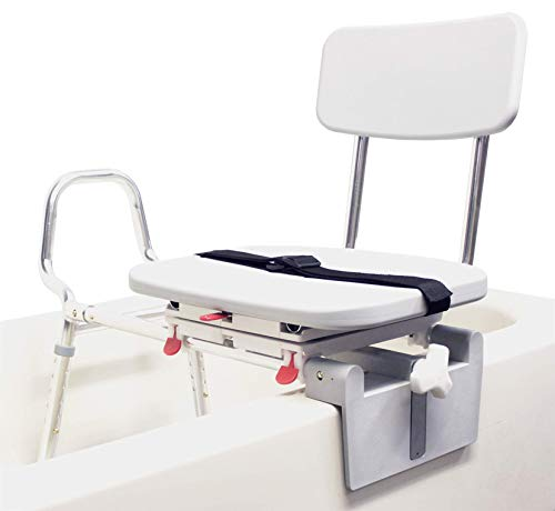 (EagleHealth Tub-Mount Swivel Sliding Bench 77762)