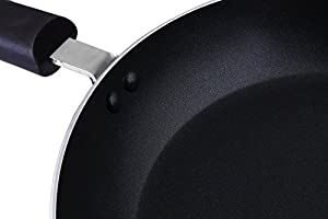 Frying pan with Rivet Handles